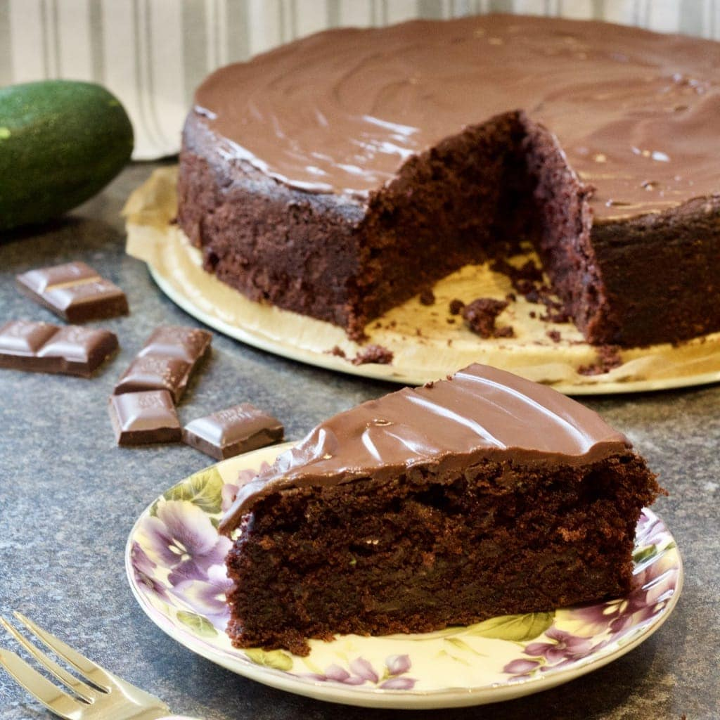 Chocolate Courgette (Zucchini) Cake