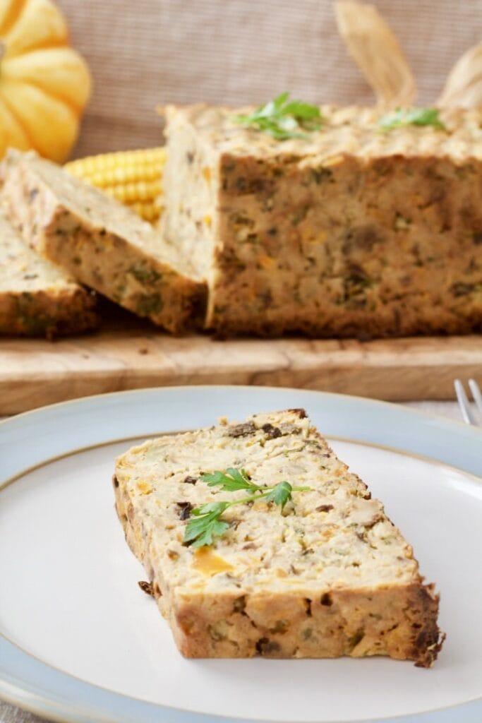 Celeriac Veggie Loaf