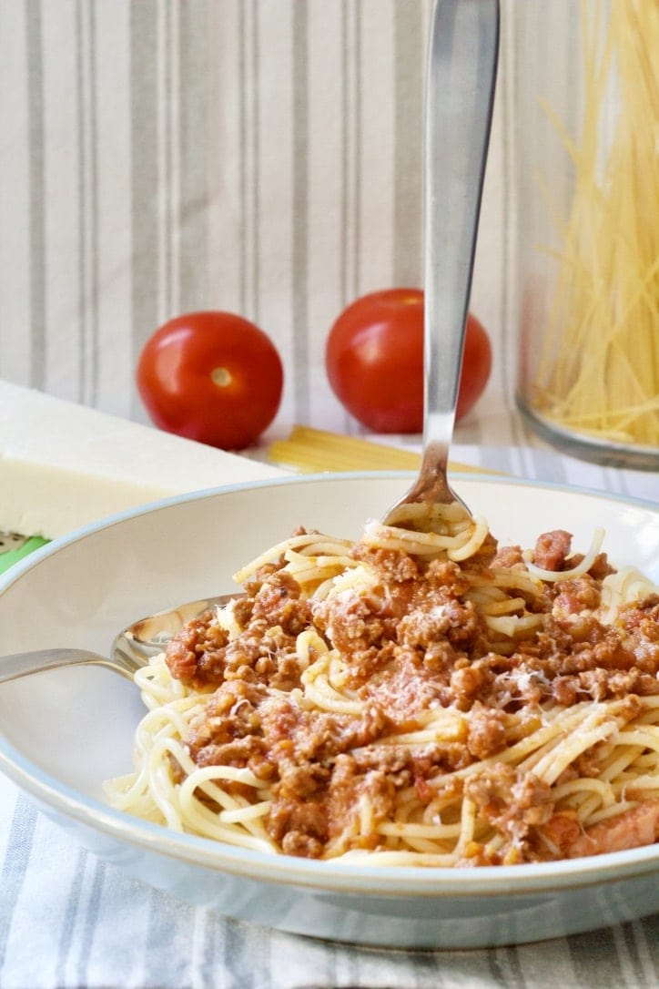 Instant Pot Ragù Bolognese (Batch Cooking Recipe)