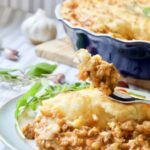 Shepherd's Pie with Roasted Garlic Mashed Potatoes