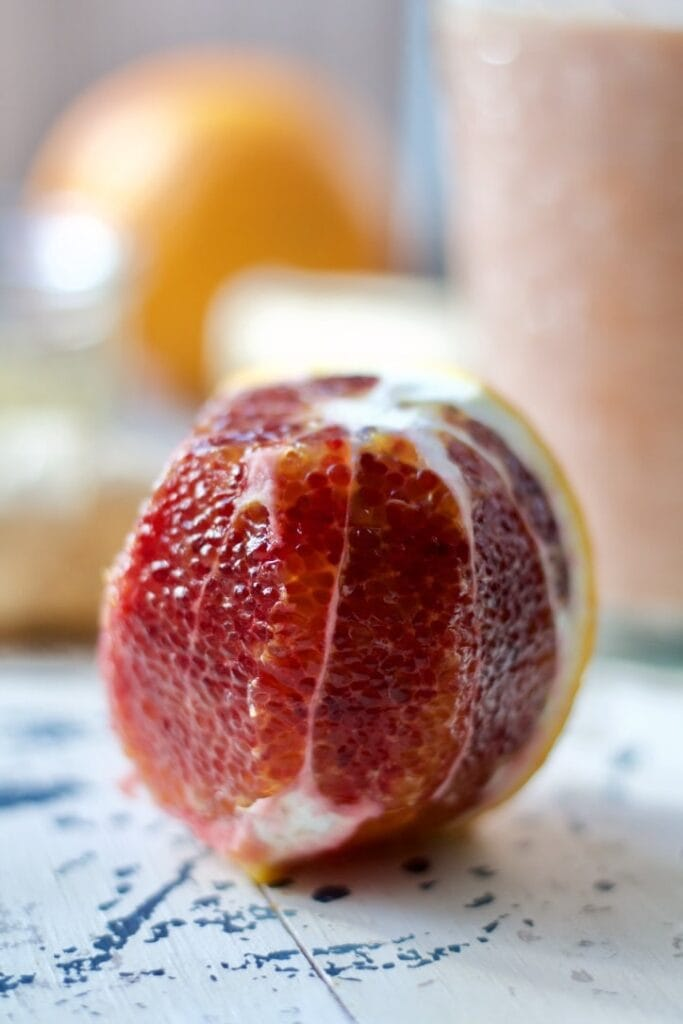 Blood Orange & Ginger Smoothie