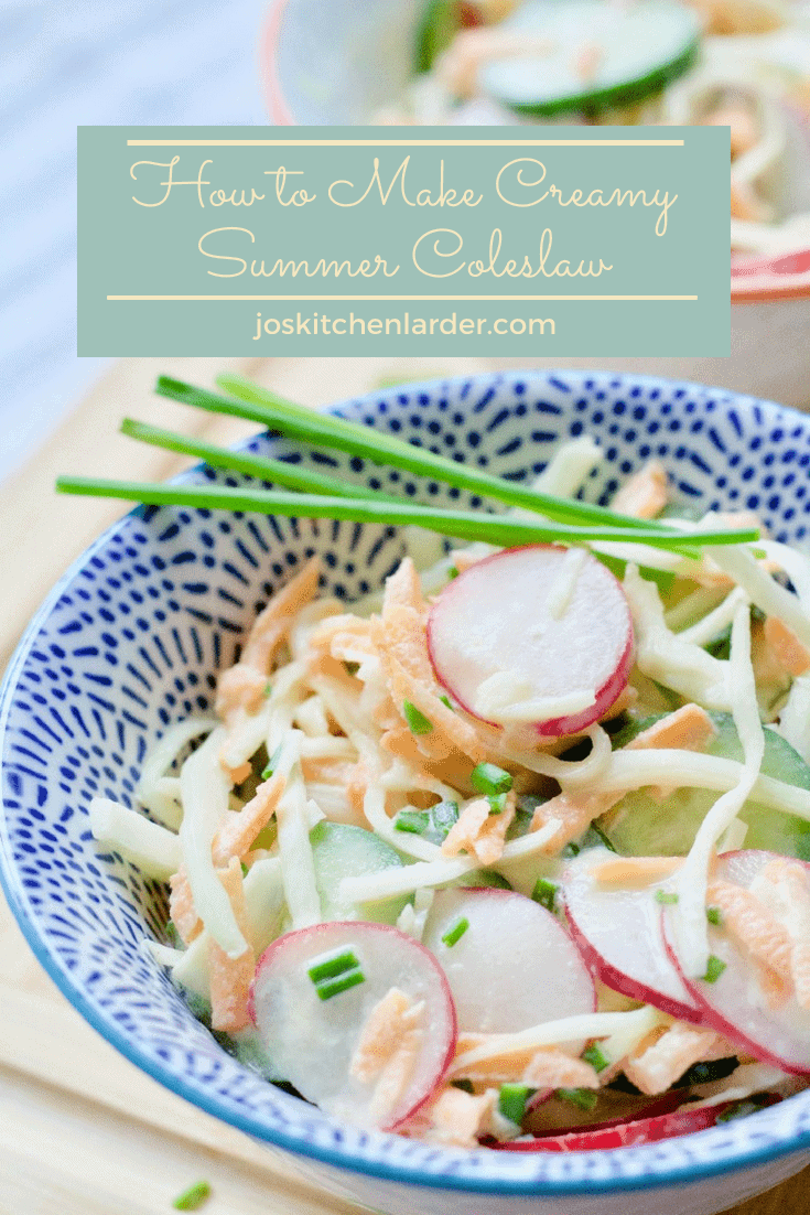How to Make Creamy Summer Coleslaw
