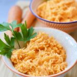 Easy Grated Carrot Salad