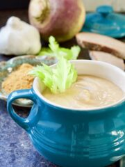 Curried Swede Soup
