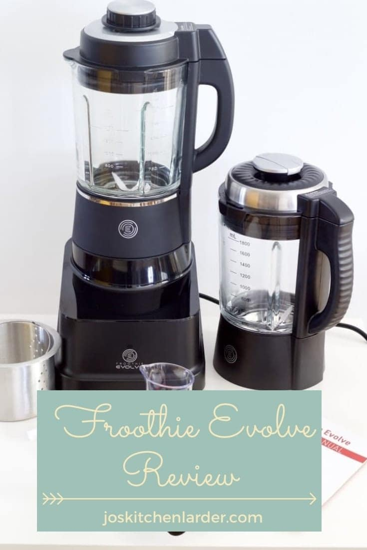 Froothie Evolve High Speed Blender Review