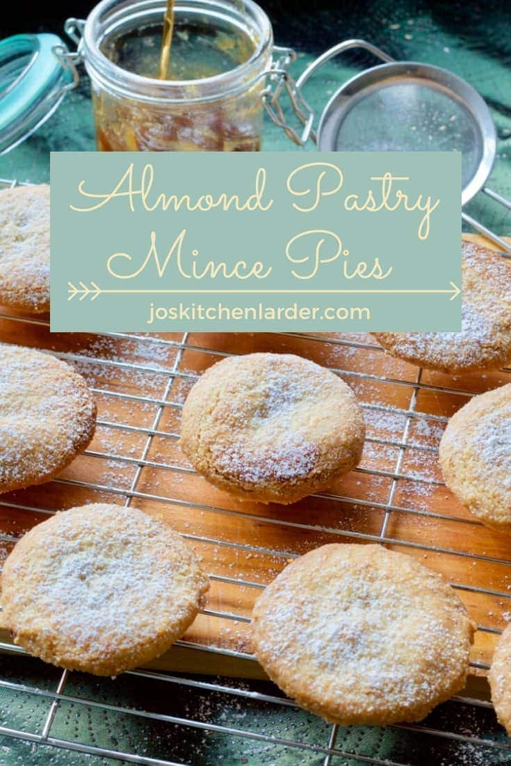 Almond Pastry Mince Pies (Melt In Your Mouth)