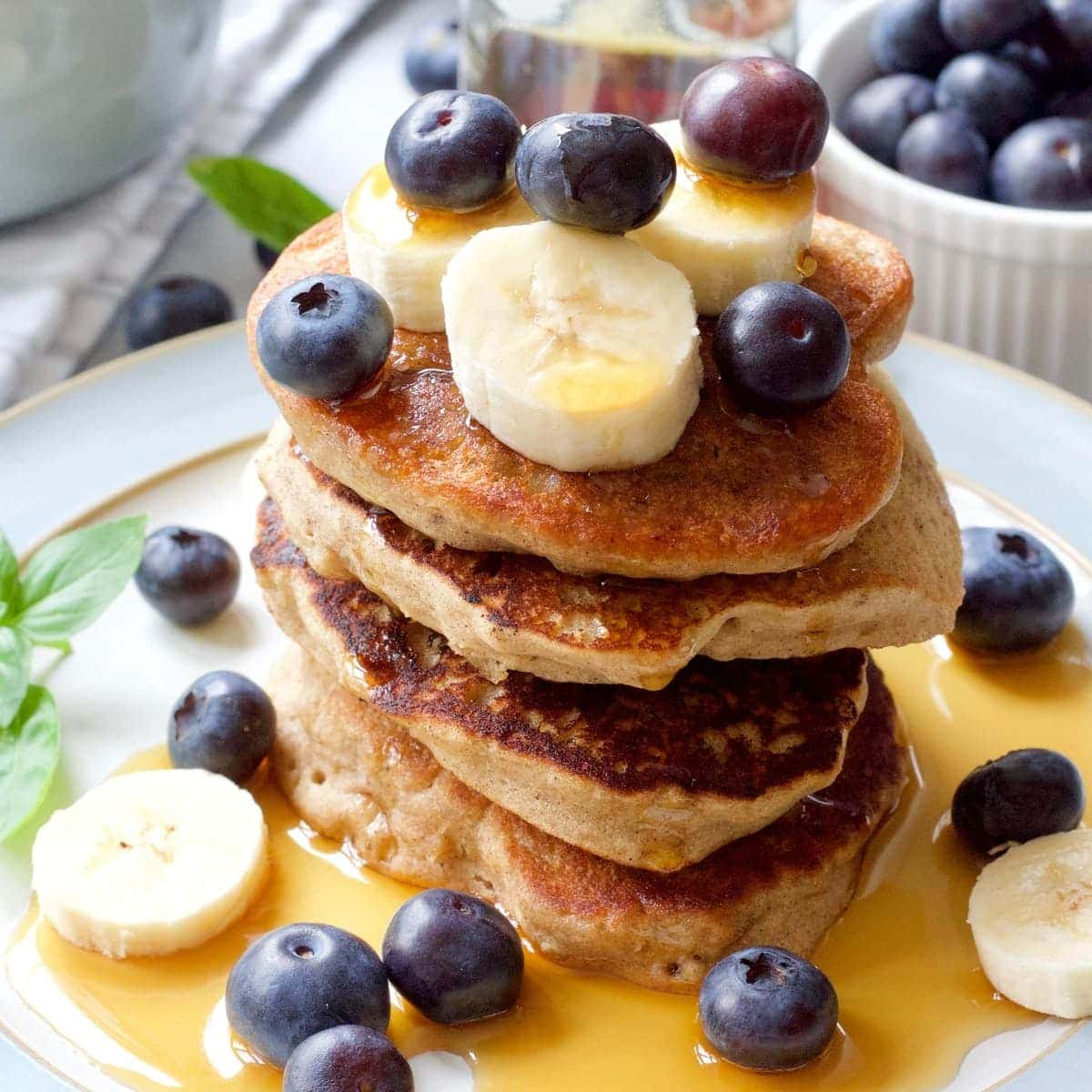 Vegan Buckwheat Pancakes Jo S Kitchen Larder