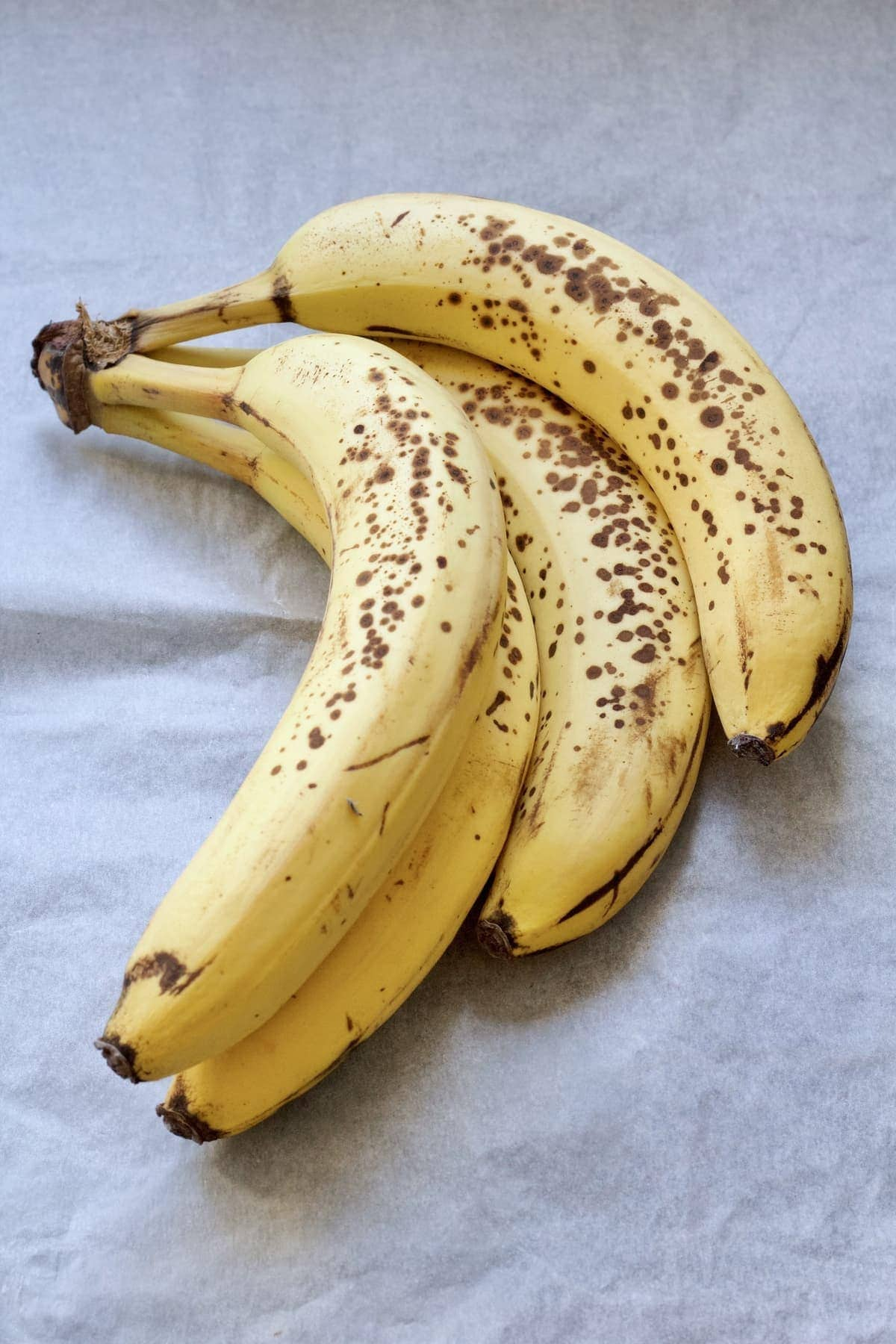 Bunch of ripe bananas.