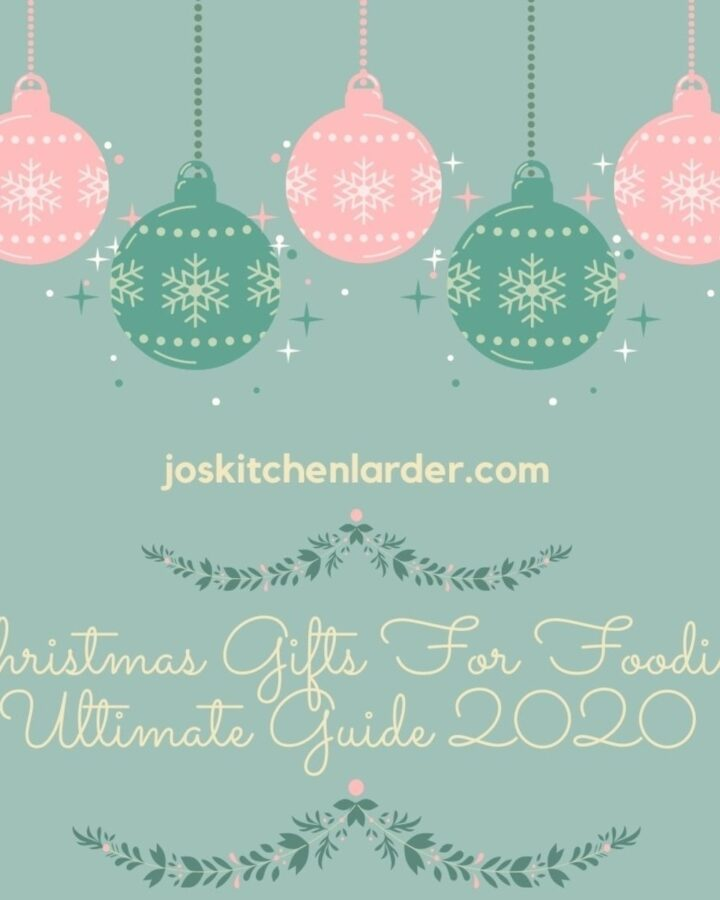 Image with baubles for Christmas Gifts For Foodies.