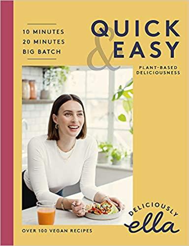 Deliciously Ella cookbook.