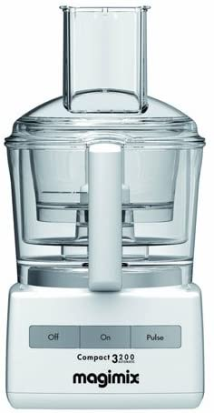 Magimix Compact 3200 White Food Processor.