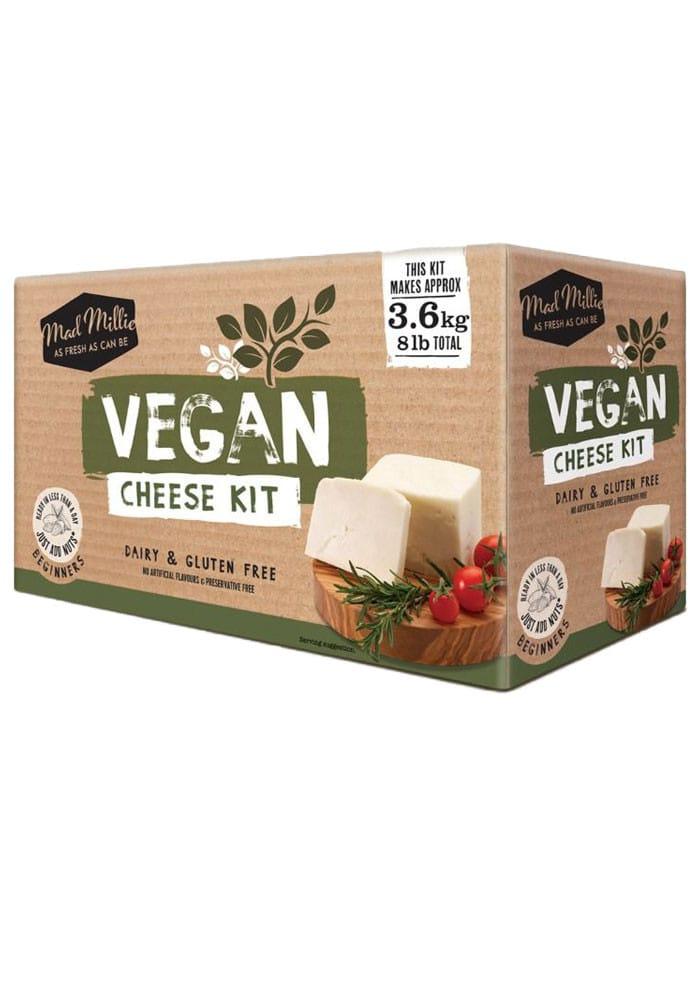 Vegan cheese kit box.